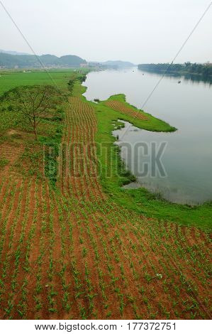 Beautiful Countryside Of Quang Binh, Viet Nam