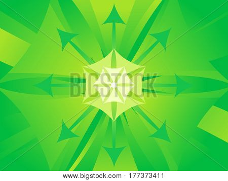abstract artistic green titled background vector illustration