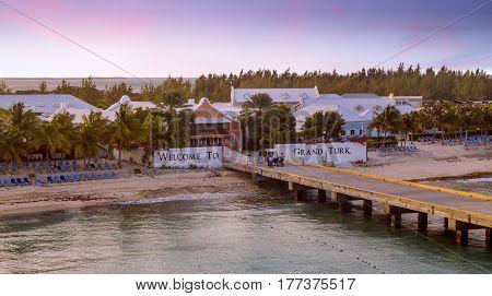 Grand Turk island, Turks and Caicos, the Caribbeans