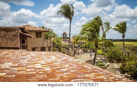 Altos de Chavon village La Romana in Dominican Republic