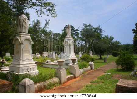 Historic Scottsville Cemetery, Scottsville Texas