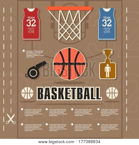 arbitrator, shirt, ball, brown, field, vector, symbol, win, template, ring, graphic, champion, element, goal, team, icon, illustration, shorts, design, cut, gold, basketball, command, banner, grid, judge, background, play, player, whistle, victory, silver