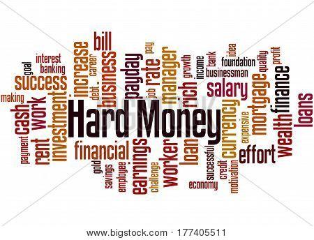 Hard Money, Word Cloud Concept