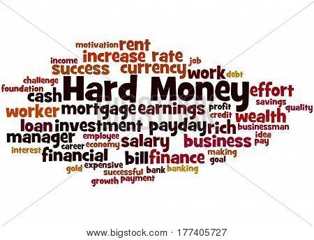 Hard Money, Word Cloud Concept 3