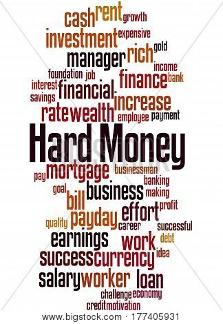 Hard Money, Word Cloud Concept 5
