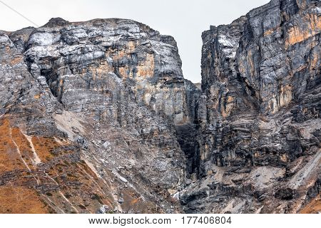 Beautiful view of the Valley on Annapurna circuit trek