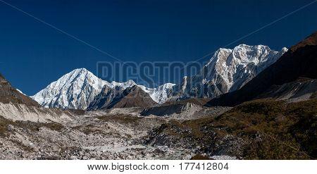 Beautiful landscape of Himalaya mountains, nepal, everest