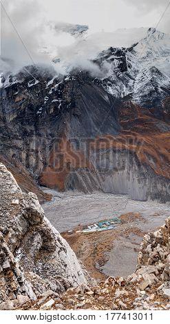 Valley On Annapurna Circuit Trek