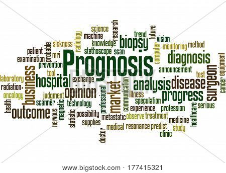 Prognosis, Word Cloud Concept