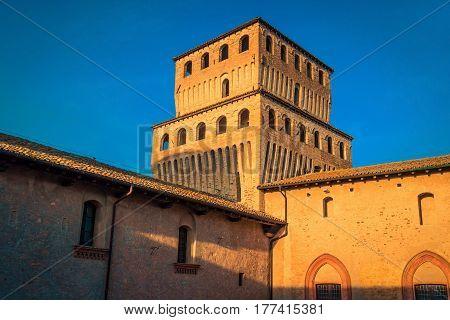 Medieval Torrechiara Castle