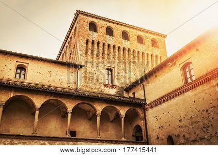 Torrechiara Castle, Emilia-romagna Region, Italy