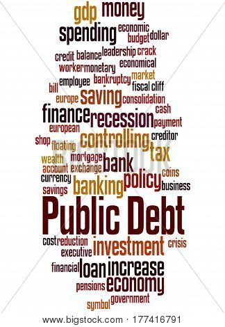 Public Debt, Word Cloud Concept 5