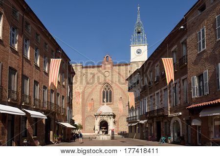 Cathedral of Perpignan Languedoc Roussillon France Europe