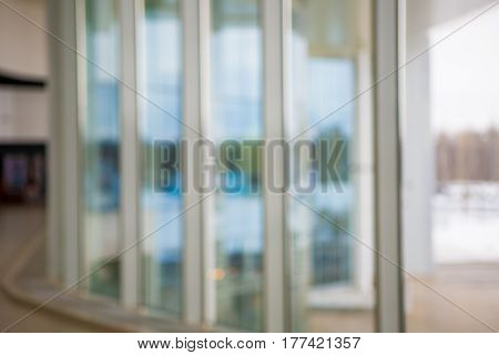 Defocused Office Building Lobby or hospital Background