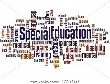 Special Education, Word Cloud Concept 2