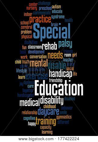 Special Education, Word Cloud Concept 5