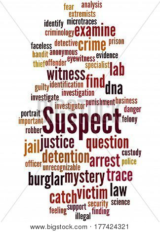 Suspect, Word Cloud Concept 7