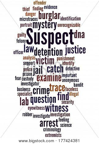 Suspect, Word Cloud Concept 8