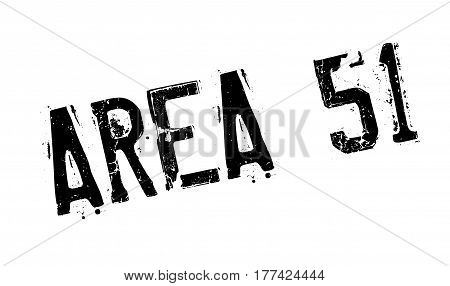 Area 51 rubber stamp. Grunge design with dust scratches. Effects can be easily removed for a clean, crisp look. Color is easily changed.