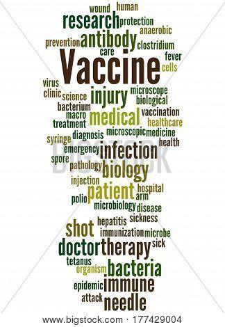 Vaccine, Word Cloud Concept 9