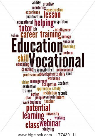 Vocational Education, Word Cloud Concept 7