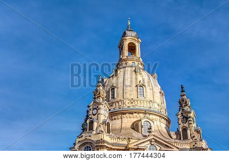Church Of Our Lady In Dresden