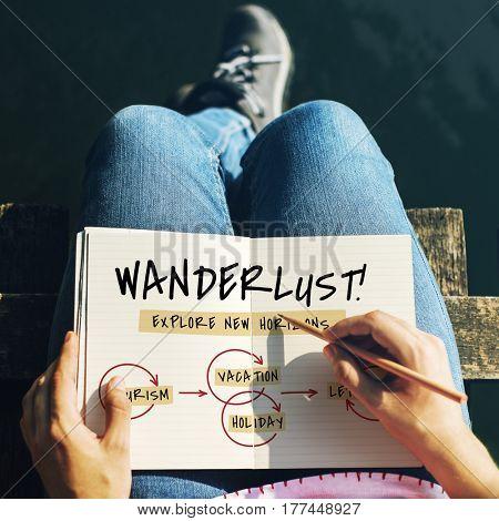 Outdoors Wanderlust Adventure Travel Bubbles