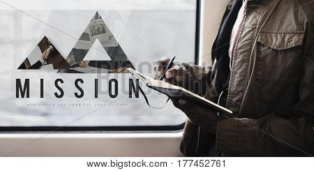 Mission Vision Innovation Leader Aim