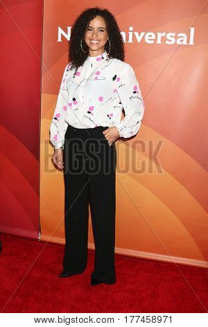 LOS ANGELES - MAR 20:  Parisa Fitz-Henley at the NBCUniversal Summer Press Day at Beverly Hilton Hotel on March 20, 2017 in Beverly Hills, CA