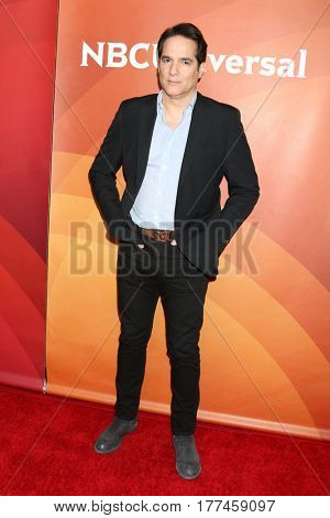 LOS ANGELES - MAR 20:  Yul Vazquez at the NBCUniversal Summer Press Day at Beverly Hilton Hotel on March 20, 2017 in Beverly Hills, CA