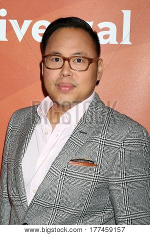 LOS ANGELES - MAR 20:  Nico Santos at the NBCUniversal Summer Press Day at Beverly Hilton Hotel on March 20, 2017 in Beverly Hills, CA