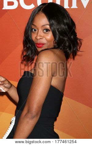 LOS ANGELES - MAR 20:  Bresha Webb at the NBCUniversal Summer Press Day at Beverly Hilton Hotel on March 20, 2017 in Beverly Hills, CA