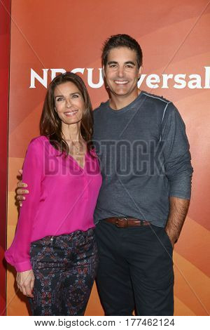 LOS ANGELES - MAR 20:  Kristian Alfonso, Galen Gering at the NBCUniversal Summer Press Day at Beverly Hilton Hotel on March 20, 2017 in Beverly Hills, CA