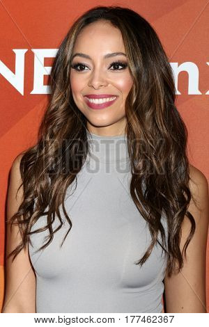 LOS ANGELES - MAR 20:  Amber Stevens West_ at the NBCUniversal Summer Press Day at Beverly Hilton Hotel on March 20, 2017 in Beverly Hills, CA
