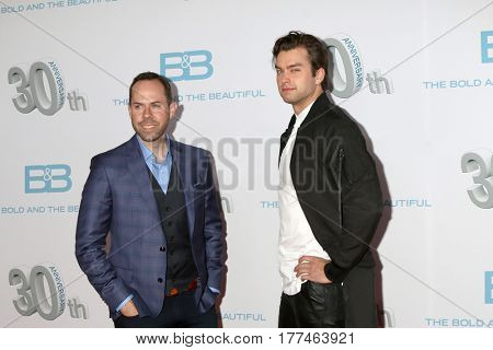 LOS ANGELES - MAR 19:  Casey Kasprzyk, Pierson Fode at the