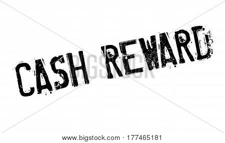 Cash Reward rubber stamp. Grunge design with dust scratches. Effects can be easily removed for a clean, crisp look. Color is easily changed.