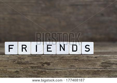 Friends, Written In Cubes