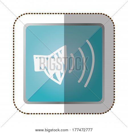 symbol volume technology icon, vector illustration design