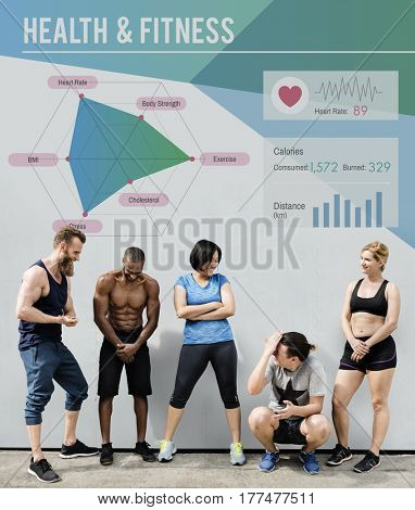 Health Fitness People Concept
