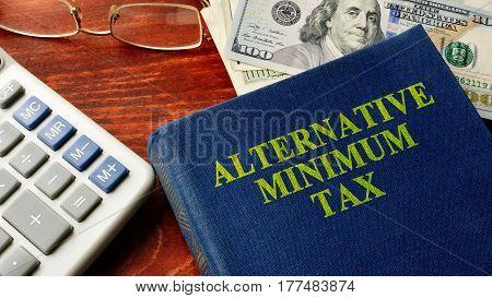 Book with title Alternative Minimum Tax (AMT).