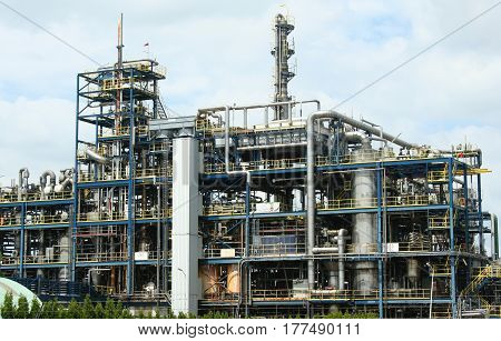 Petrochemical And Heavy Industry In The North Of The Netherlands