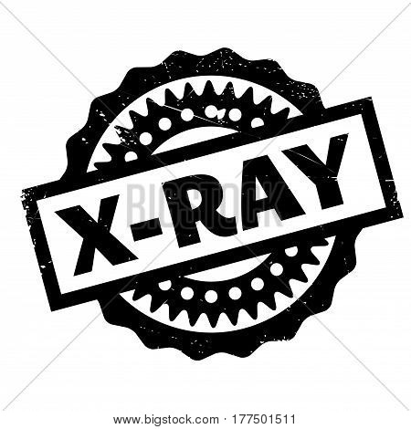 X-Ray rubber stamp. Grunge design with dust scratches. Effects can be easily removed for a clean, crisp look. Color is easily changed.