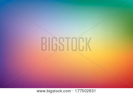 Abstract background, raindow mesh gradient, pattern for you presentation, vector design wallpaper