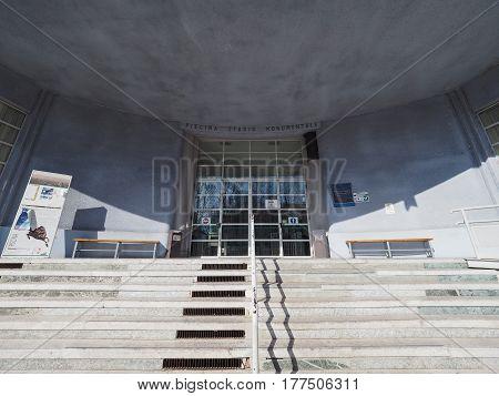 Piscina Stadio Monumentale In Turin