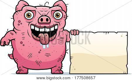 Ugly Pig Sign