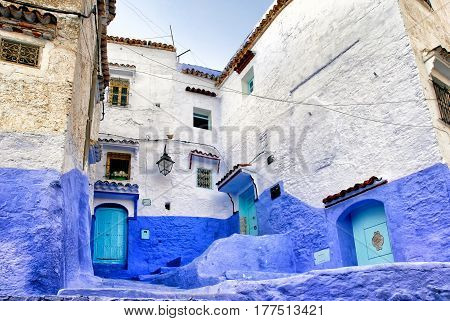 Medina Of The Blue Town Chefchaouen, Morocco