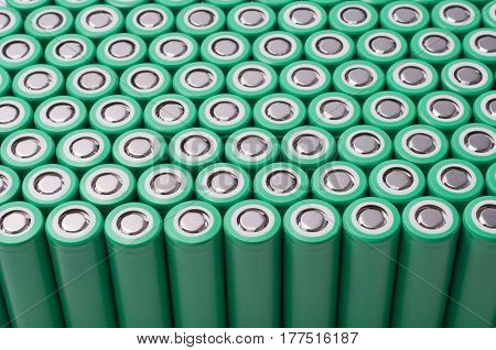 Li-ion 18650 size industrial high current batteries poster