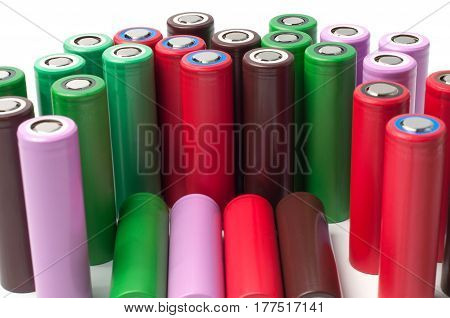 Lithium ion 18650 size industrial high current batteries