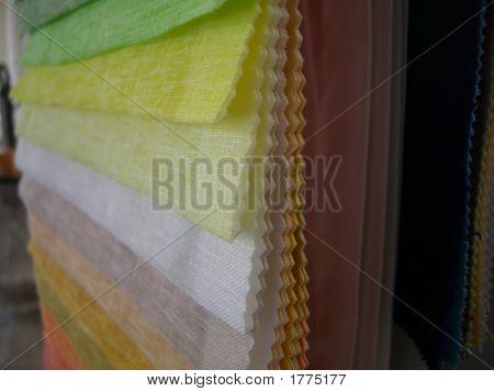 Colored Samples Closeup
