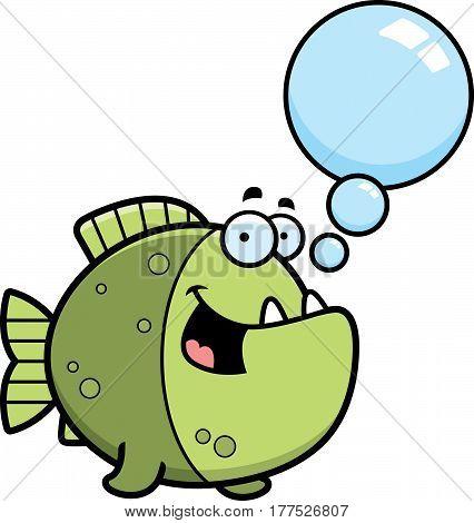 Talking Cartoon Piranha